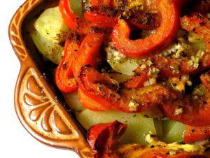 ירקות בתנור מעדן דיאטטי