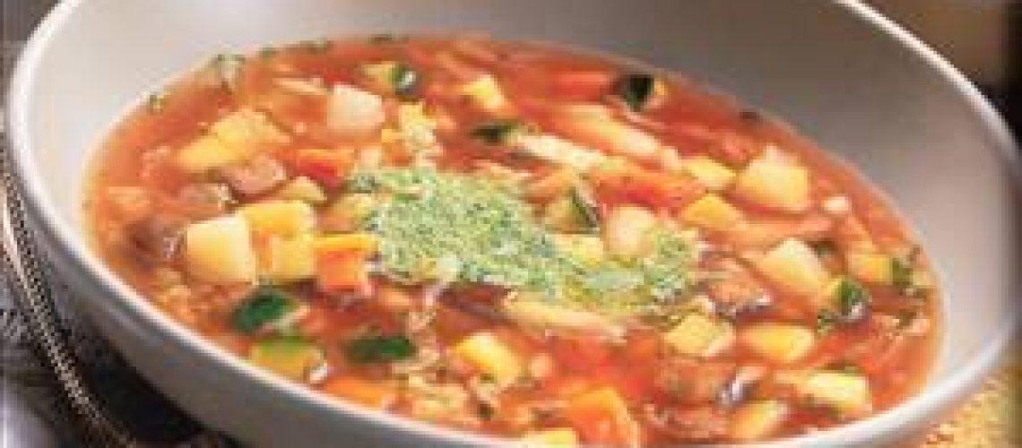 מרק ירקות איטלקי